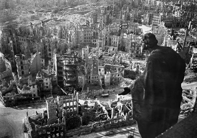 Imagen de la ciudad de Berlín destruida