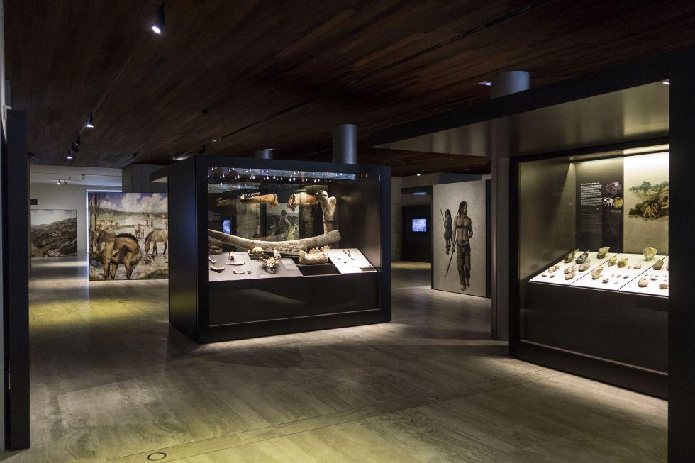 Museografía. Prehistoria.