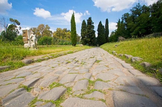 Carretera romana.