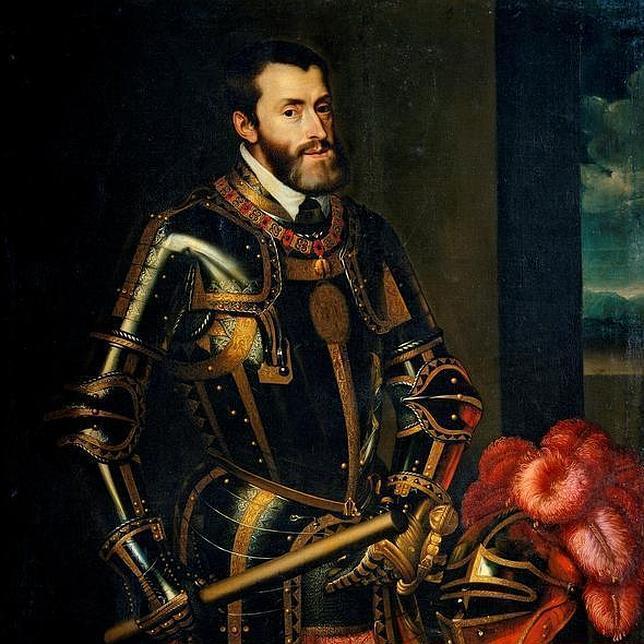 """Los reyes, como Carlos I de España, eran de sangre azul o """"pura"""". Foto: Wikipedia"""
