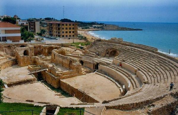 Anfiteatro romano, Tarragona.