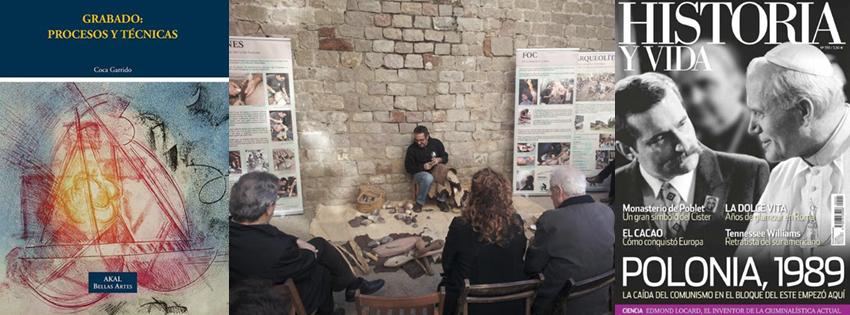 """Ágora Historia 01x44 - Historia del grabado - Yacimientos neolíticos del barrio de """"El Raval"""""""