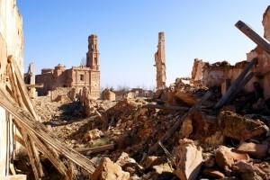Ruinas del pueblo de Belchite