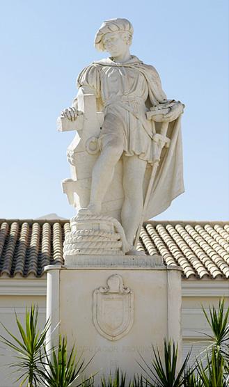 Estatua de Martín Alonso Pinzón./Miguel Ángel fotógrafo