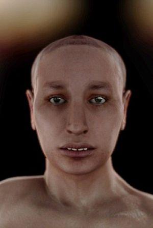 La verdadera cara de Tutankhamón ALAMY/BBC