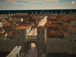 Puerta virtual de Barcino