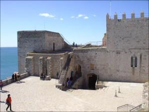 Interior del Castillo de Peñíscola