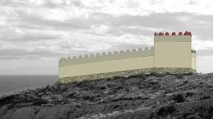 Reconstrucción fortín ibérico-púnico