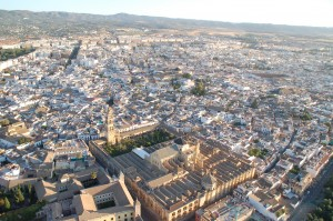 Vista aerea de la Mezquita de Cordoba