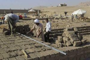 Reconstrucción del Templo de Tutmosis III - EFE