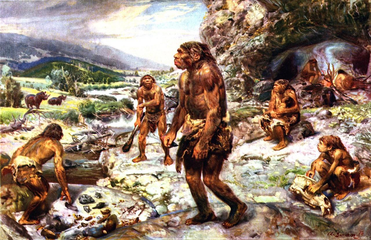 Resultado de imagen de Los neandertales