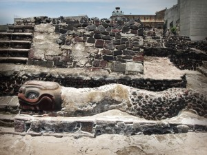 Templo Mayor en Mexico