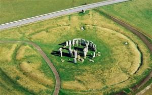 Stonehenge - fotografía aerea