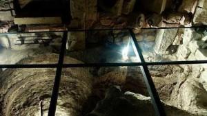 Restos arqueológicos en la ciudad de Lecce