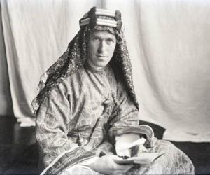 Thomas Edward Lawrence más conocido como Lawrence de Arabia