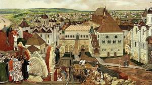 Construccion del Kremlin bajo Ivan III