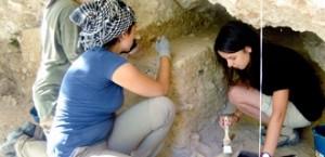 Excavaciones en el Abrigo del Molino