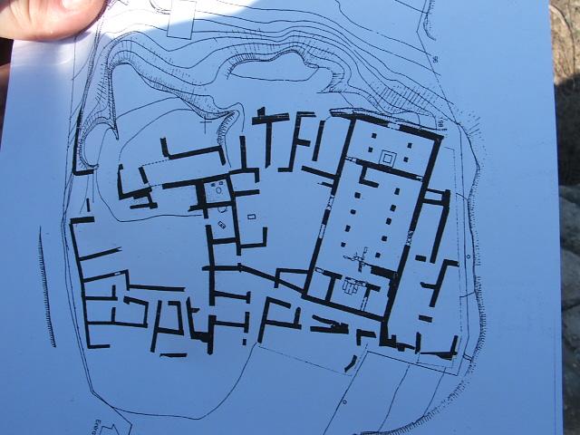 Estructura cartográfica que alcanzaba el pobado de El Bovalar./Losoci