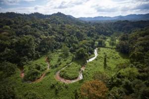Valle inexplorado en La Mosquitia (Honduras)
