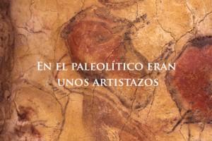 paleolitico artistas