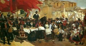Sección Izquierda de Visión de España - La fiesta del pán