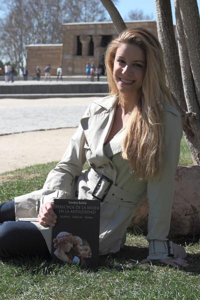 """Sandra Rubio, autora de """"Derechos de la mujer en la Antigüedad"""" Foto: David Benito"""