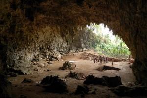 Cueva Liang Bua (Indonesia) lugar del descubrimiento del Homo Floresiensis