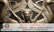 151 Ágora Historia – Tartessos –  Dibujo arqueológico – Cervantes en Barcenola