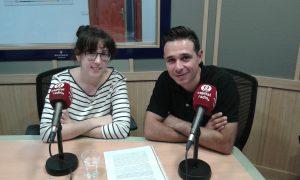 Lucía Triviño y David Benito