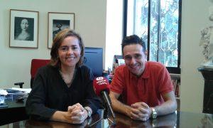 Elena Hernando y David Benito